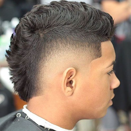 Mohawk Fade Haircut 2018   Fade Haircuts   Fade Haircut, Hair Cuts With Barely There Mohawk Hairstyles (View 6 of 25)