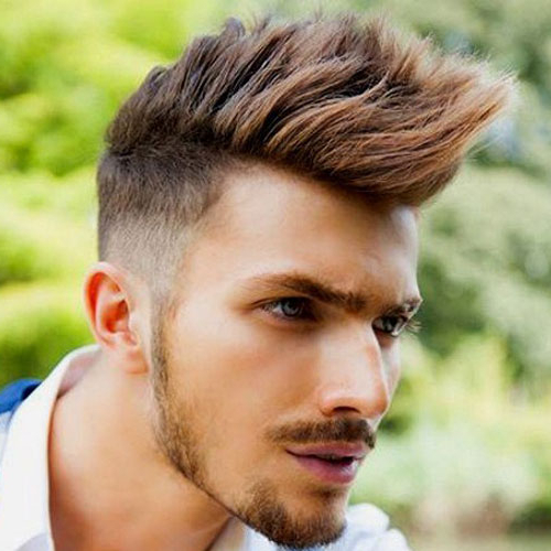 Mohawk Fade Haircut 2019 | Men's Haircuts + Hairstyles 2019 Regarding Silvery White Mohawk Hairstyles (View 22 of 25)