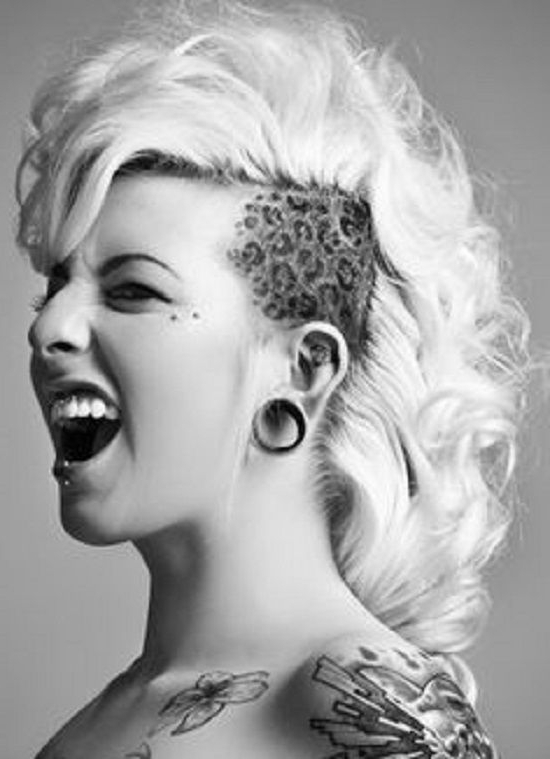 Mohawk Girls – Google Search | Short Hair, Care A Lot | Pinterest With Regard To Tattoo You Tonight Faux Hawk Hairstyles (View 22 of 25)