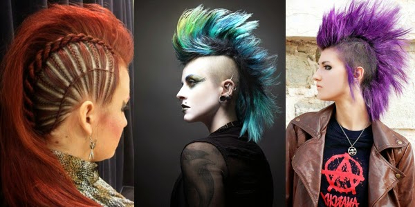 Mohawk Girls! – The Haircut Web Intended For Lavender Ombre Mohawk Hairstyles (View 9 of 25)