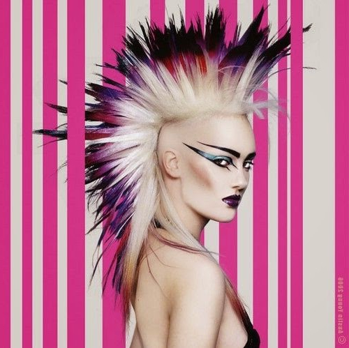 Mohawk Girls! – The Haircut Web With Regard To Lavender Ombre Mohawk Hairstyles (View 13 of 25)