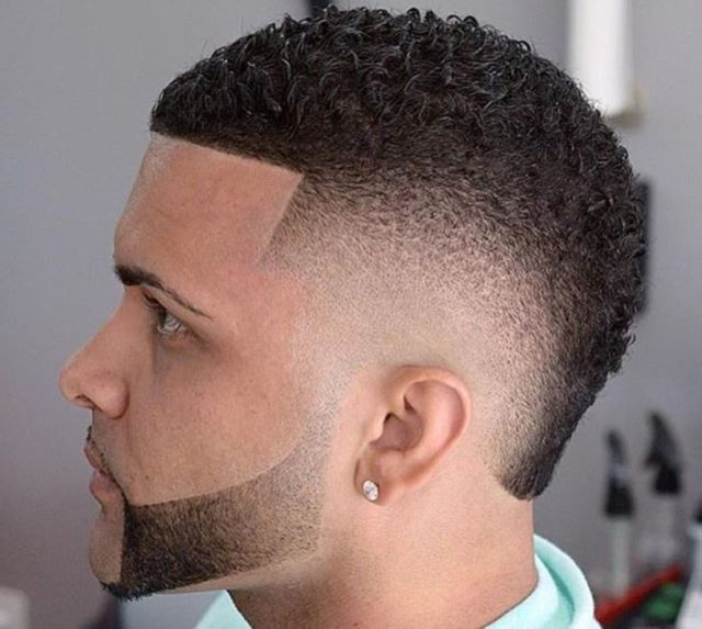 Mohawk Haircut: 15 Curly, Short, Long Mohawk Hairstyles For Men Pertaining To Designed Mohawk Hairstyles (View 6 of 25)