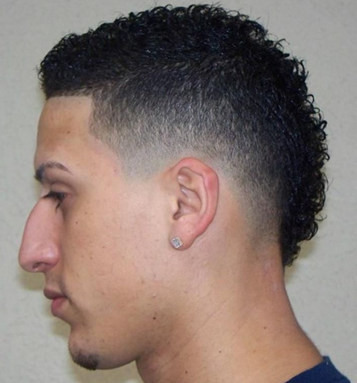 Mohawk Haircut: 15 Curly, Short, Long Mohawk Hairstyles For Men Throughout Curl–Accentuating Mohawk Hairstyles (View 11 of 25)