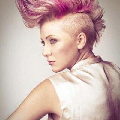Featured Photo of Mohawk Hairstyles With Vibrant Hues