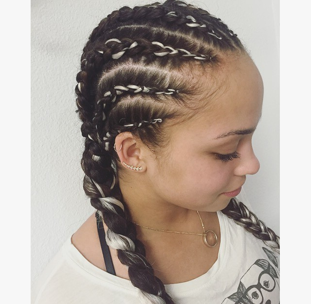 Mohawk Hairstyle For Girl Lovely Braids Hairstyles Luxury Braided Regarding Long And Lovely Mohawk Hairstyles (View 3 of 25)