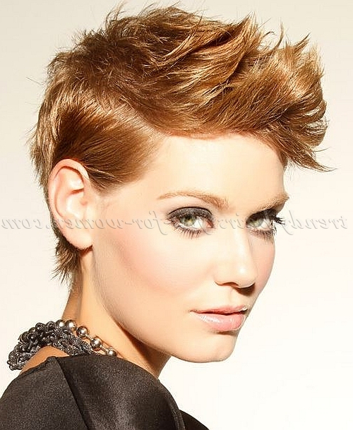 Mohawk Hairstyle For Short Hair – Best Short Hair Styles Intended For Short Haired Mohawk Hairstyles (View 22 of 25)