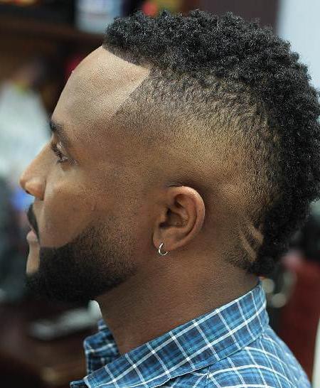 Mohawk Hairstyles For Black Men – Leymatson Within Black Mohawk Hairstyles (View 16 of 25)