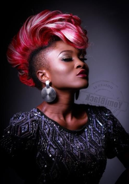 Mohawk Hairstyles For Black Women – Bing Images | My New Do Ideas In With Regard To Innocent And Sweet Mohawk Hairstyles (View 14 of 25)