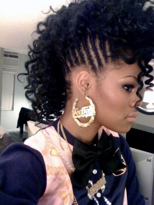 Mohawk Hairstyles For Black Women – Top 10 Mohawk Hairstyles For Intended For Black Mohawk Hairstyles (View 19 of 25)