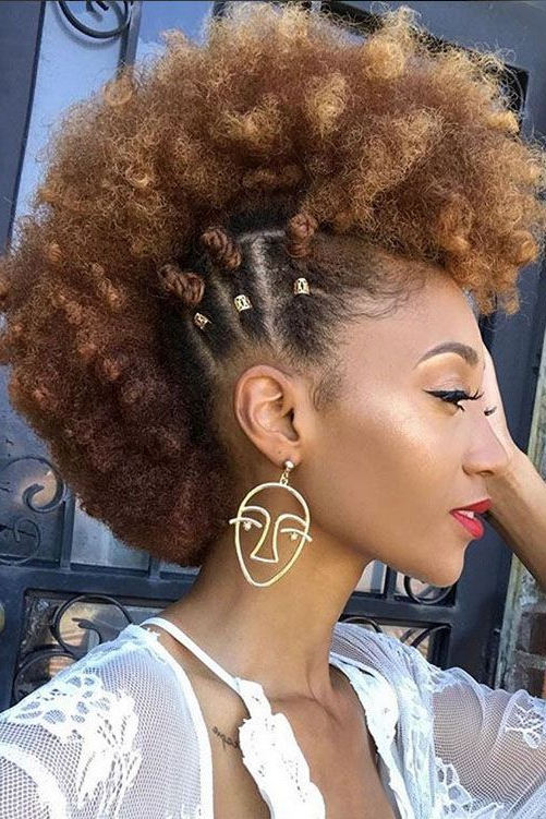 Mohawk Hairstyles For Natural Hair | Hair Lust | Curly Hair Styles In Cute And Curly Mohawk Hairstyles (View 5 of 25)