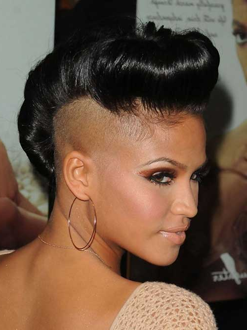 Mohawk Short Hairstyles For Black Women – Love This Hair With Regard To Short Haired Mohawk Hairstyles (View 11 of 25)