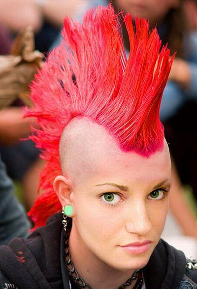 Mohawk   Splitting Hairs   Hair, Hair Styles, Punk Inside Punk Rock Princess Faux Hawk Hairstyles (View 23 of 25)
