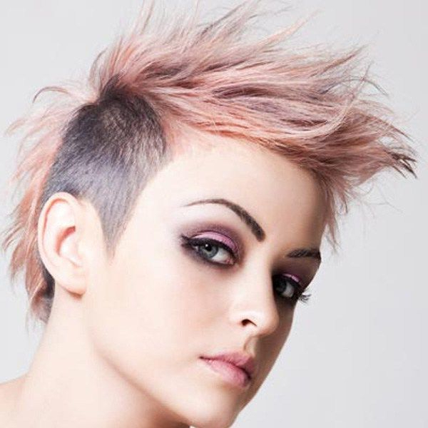 Mohawk With Vibrant Hues | Hairstyles | Pinterest | Mohawks, Mohawk Intended For Mohawk Hairstyles With Vibrant Hues (View 2 of 25)