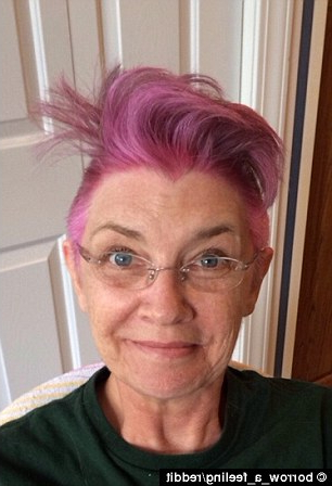 Mother With Breast Cancer Shaves Her Hair Into A Bright Pink Mohawk With Hot Pink Fire Mohawk Hairstyles (View 20 of 25)