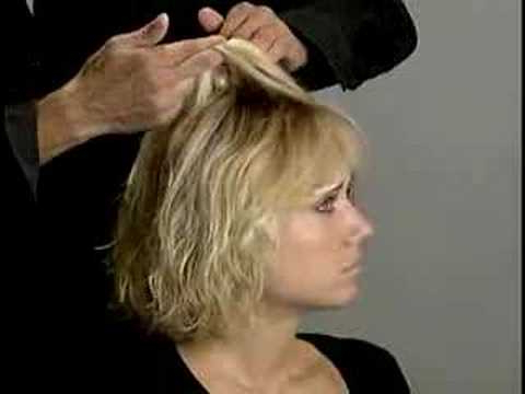 Nexxus Tousled Flip - Youtube in Most Current Layered, Flipped, And Tousled Hairstyles