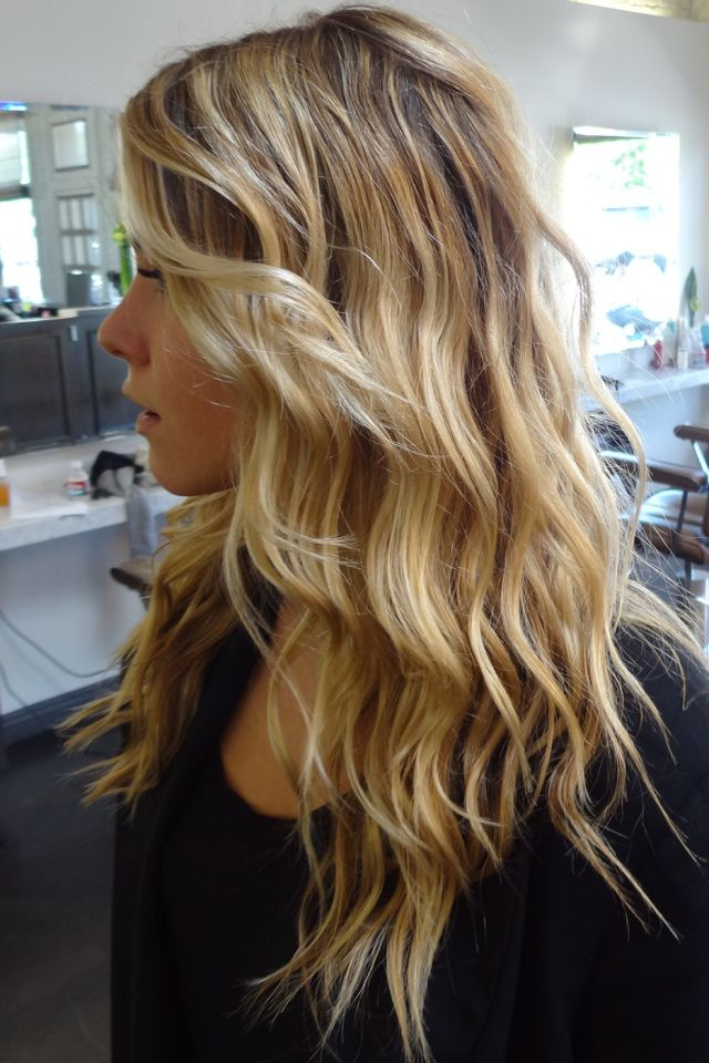Perfect Beach Waves Without Gross Feel From Salt | Hair Hair Hair In Inside Latest Salty Beach Blonde Layers Hairstyles (View 12 of 25)
