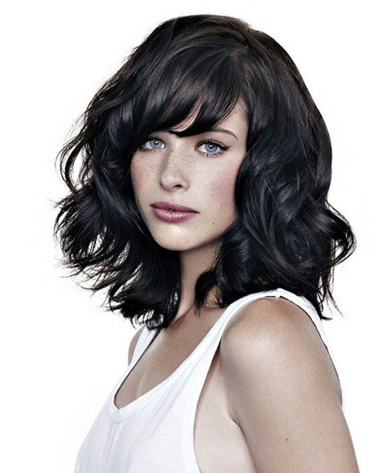 Pictures : Best Haircuts For Wavy Hair – Medium Layered Haircut For Throughout Best And Newest Medium Layered Wavy Haircuts (View 12 of 25)