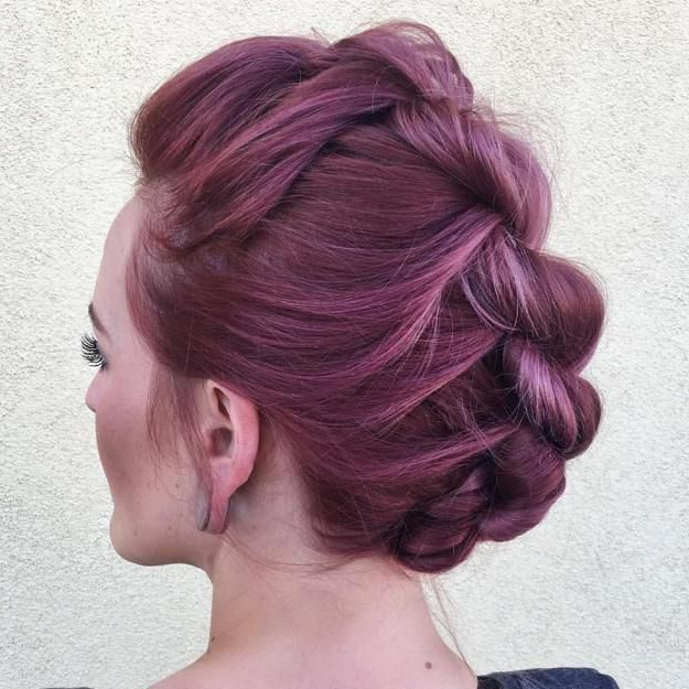 Pinerica Blanchette On Hair Cuts | Pinterest | Mohawk Hairstyles With Regard To Mini Braided Babe Mohawk Hairstyles (View 11 of 25)