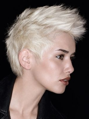 Pinhaley Wierzbicki On Hair Or Lack Thereof | Pinterest | Faux Regarding Bleached Feminine Mohawk Hairstyles (View 9 of 25)