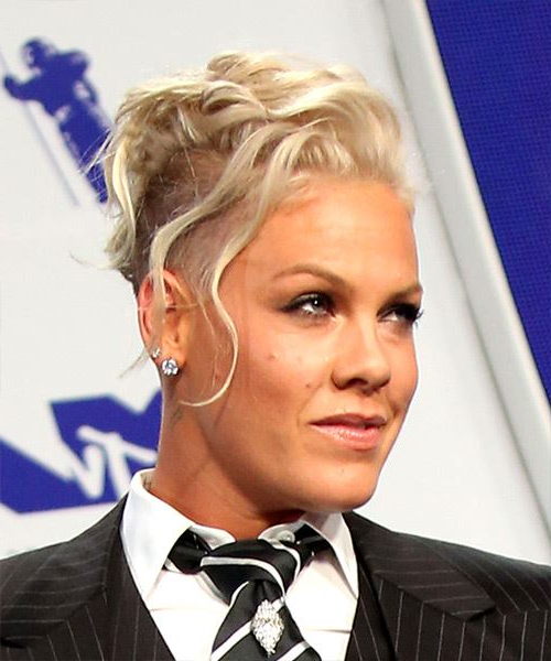 Pink Hairstyles Gallery Intended For Funky Pink Mohawk Hairstyles (View 9 of 25)