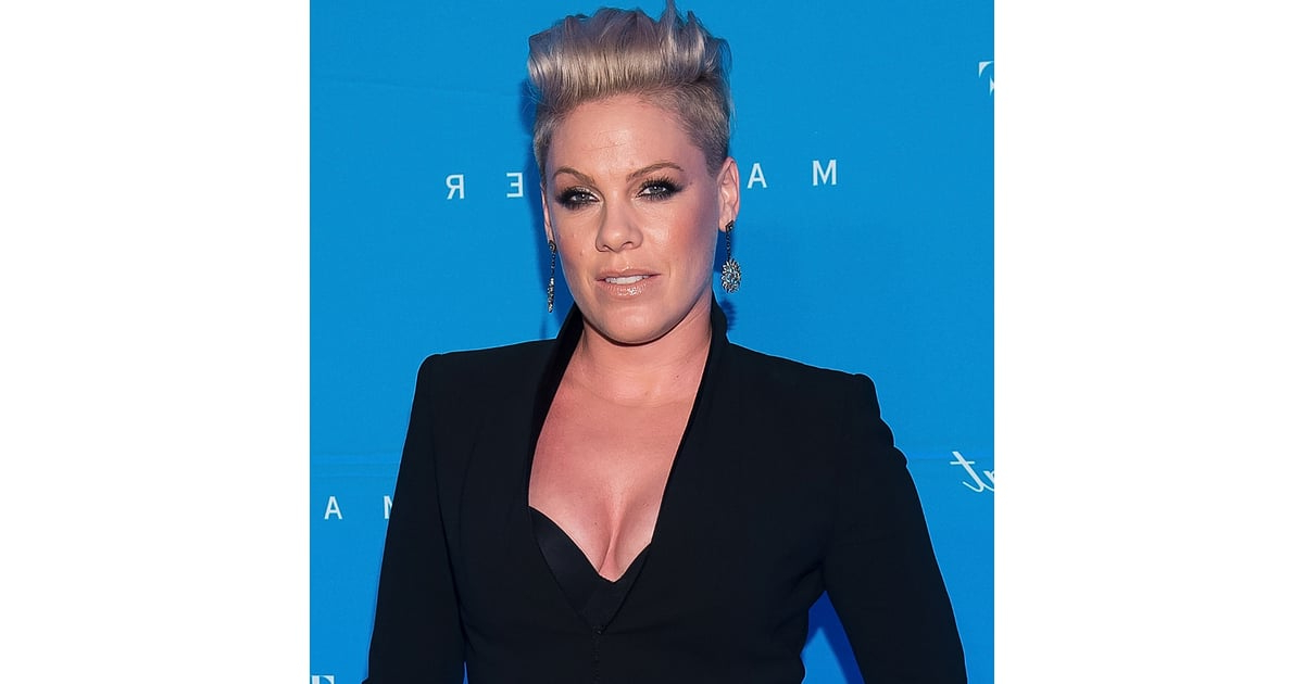 """Pink's """"just Like Fire"""" Song   Popsugar Celebrity Australia With Regard To Hot Pink Fire Mohawk Hairstyles (View 17 of 25)"""