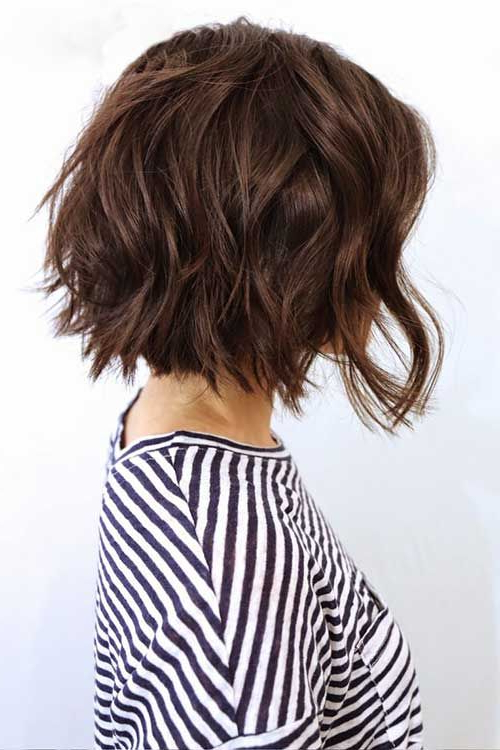 Pinlifting Lettuce On Short Hair In 2019 | Pinterest | Hair Throughout Most Popular Choppy Waves Hairstyles (View 9 of 25)