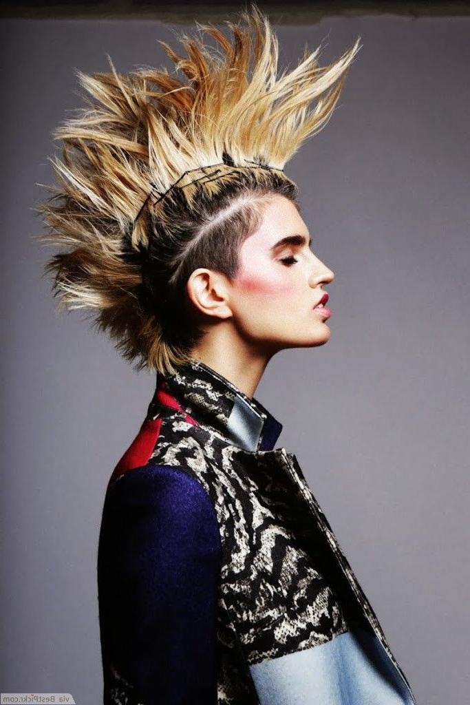 Pinolga Kotyukh On Inspiration   Pinterest   Punk, Punk Fashion With Regard To Punk Rock Princess Faux Hawk Hairstyles (View 16 of 25)