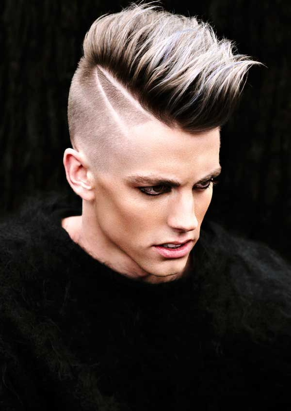 Pinpeter Mccollaum Jr On Men's Hairstyles | Pinterest | Hair With Regard To Mohawk Hairstyles With Length And Frosted Tips (View 4 of 25)