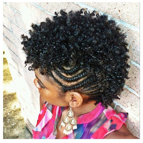 Featured Photo of Twist Curl Mohawk Hairstyles