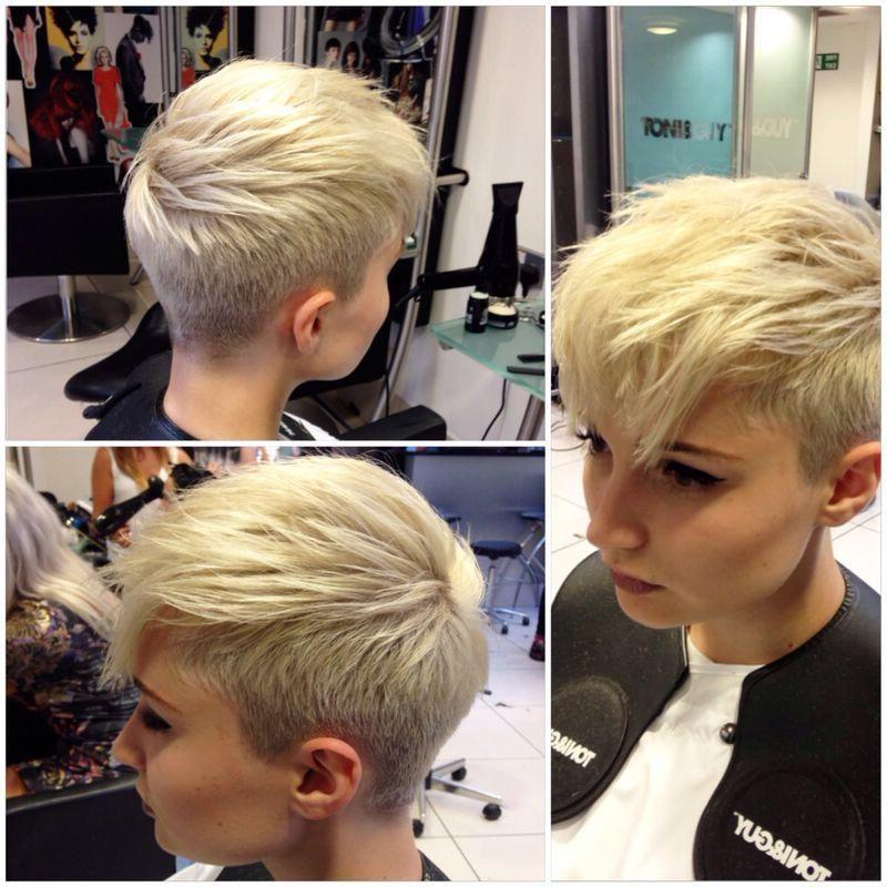 Pixie Faux Hawk … | Hair Style | Pinte… For Asymmetrical Pixie Faux Hawk Hairstyles (View 6 of 25)
