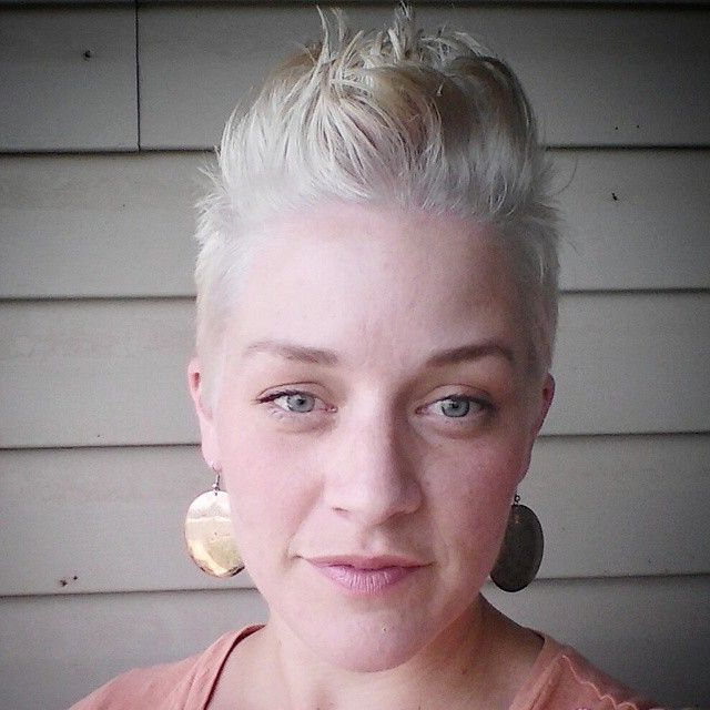Platinum Silver Pixie Faux Hawk | Short Hair Sisters In 2018 In Platinum Fauxhawk Haircuts (View 15 of 25)