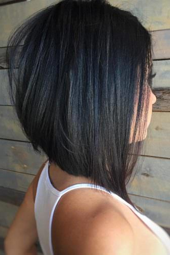 Popular Medium Length Hairstyles For Those With Long, Thick Hair Intended For Latest Medium Angled Purple Bob Hairstyles (View 24 of 25)