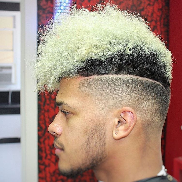 Popular Men Haircuts In 2017 In Steel Colored Mohawk Hairstyles (View 17 of 25)