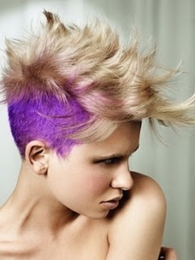 Purple Hair – Strayhair Within Lavender Ombre Mohawk Hairstyles (View 7 of 25)