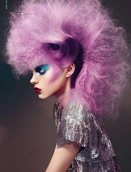 Purple Mohawk Hairstyle | Pink & Purple Hair 1 | Pinterest | Faux In Pink And Purple Mohawk Hairstyles (View 5 of 25)