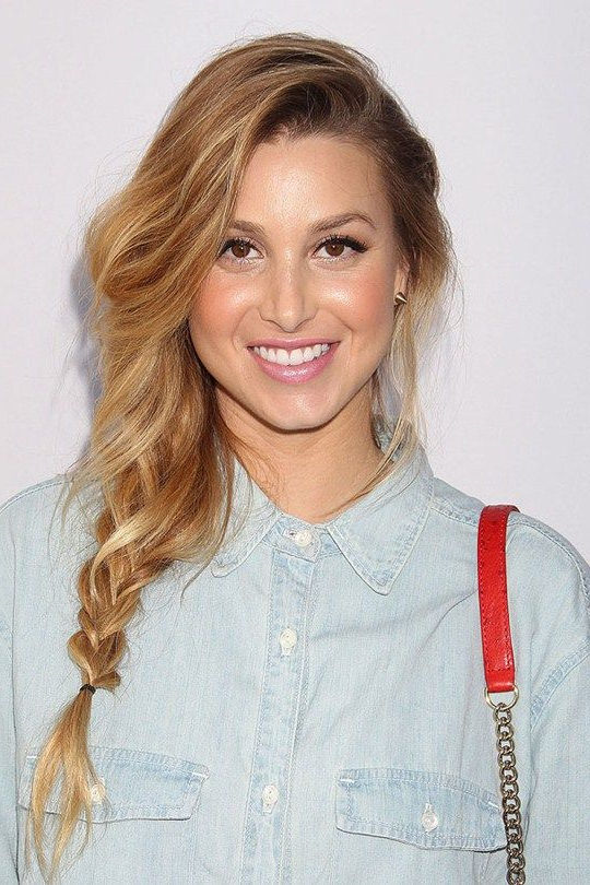 Red Carpet Hairstyle. Loose Braid – Whitney Port (View 8 of 25)