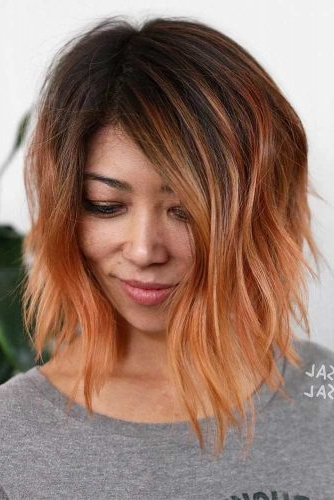 Several Ways Of Pulling Off An Inverted Bob | Lovehairstyles For Most Recent Long Angled Bob Hairstyles With Chopped Layers (View 25 of 25)