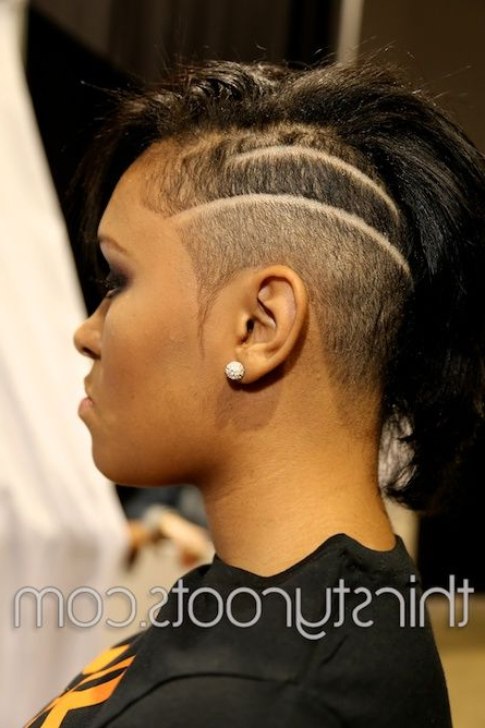 Featured Photo of High Mohawk Hairstyles With Side Undercut And Shaved Design