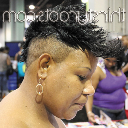 Short Black Mohawk Hairstyles With Short Haired Mohawk Hairstyles (View 17 of 25)