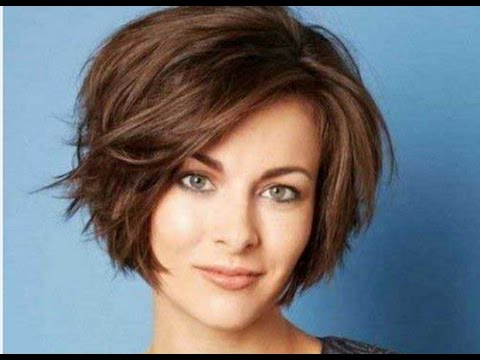 Short Choppy Bob Hairstyles For Thick Hair – Youtube In 2018 Two Layer Bob Hairstyles For Thick Hair (View 23 of 25)