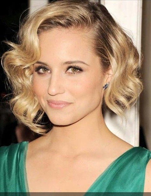 Short Choppy Finger Wave Hairstyle – Hairstyles Weekly Regarding Most Recently Choppy Waves Hairstyles (View 15 of 25)