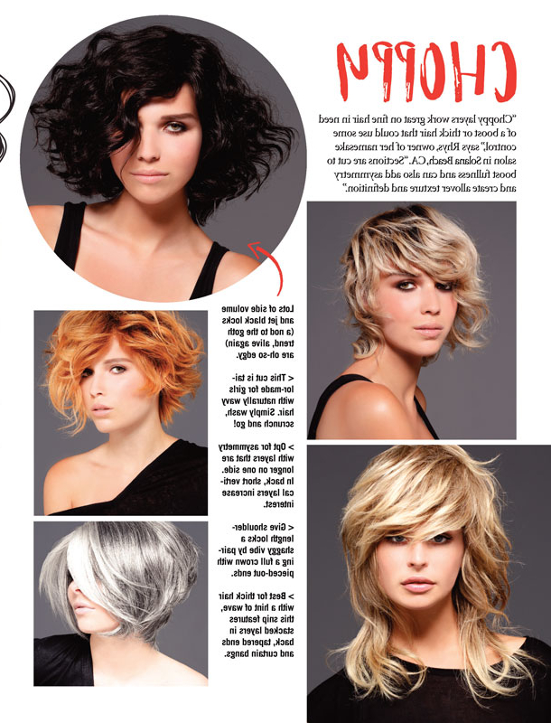 Short Hair Style Guide | Uncover Your Best Layers – Jet Rhys For Most Popular Thick Longer Haircuts With Textured Ends (View 16 of 25)