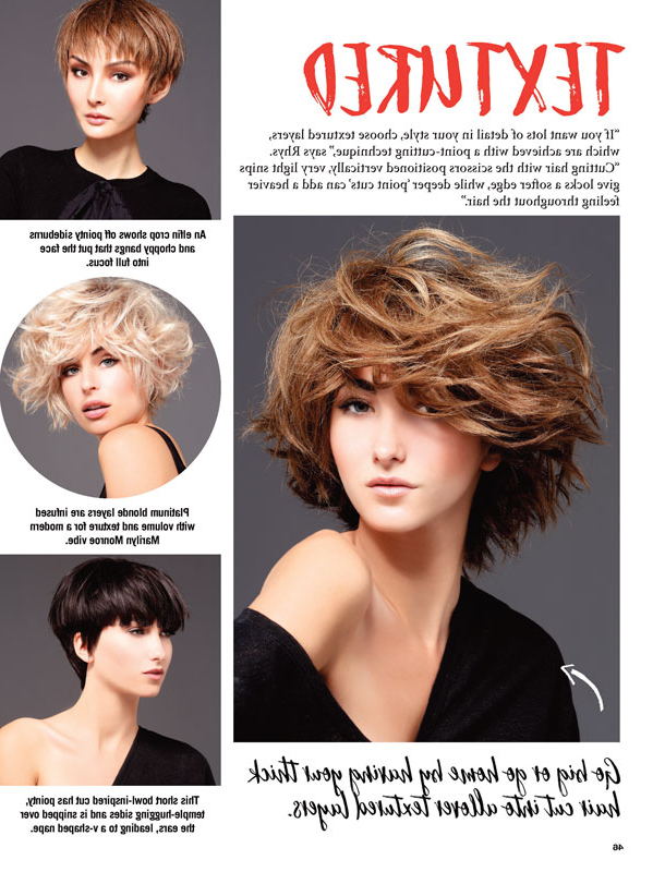 Short Hair Style Guide | Uncover Your Best Layers – Jet Rhys In Recent Layered, Flipped, And Tousled Hairstyles (View 17 of 25)