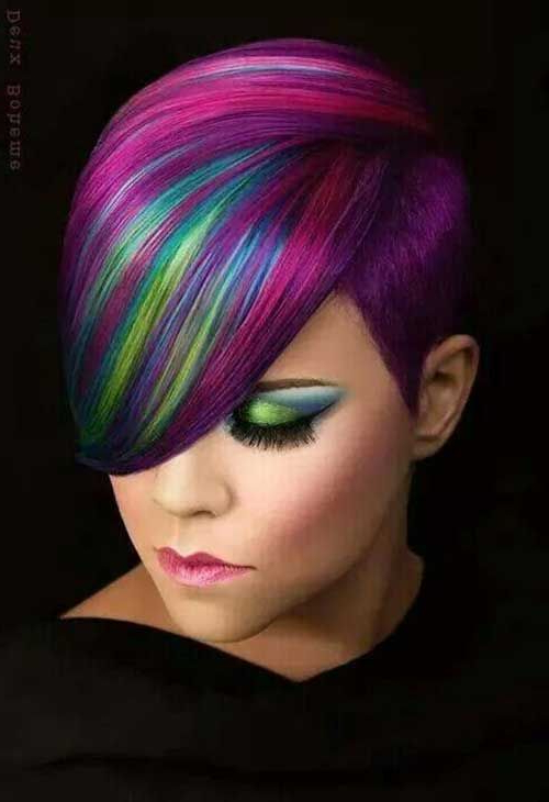 Short Haircuts For Women Will Make You Look Younger | Hair Styles Intended For Spiky Mohawk Hairstyles With Pink Peekaboo Streaks (View 25 of 25)