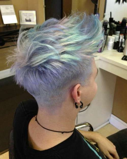 Featured Photo of Holograph Hawk Hairstyles