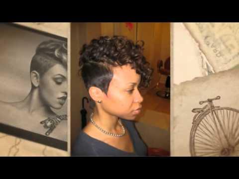 Short Mohawk Hairstyles For Black Women – Arithmaroo – Youtube For Short Mohawk Hairstyles (View 22 of 25)