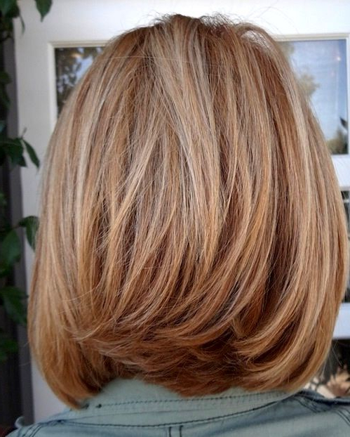 Shoulder Length Layered Bob | Excellent Bob Hairstyles For Women Regarding Newest Collarbone Bob Haircuts (View 25 of 25)