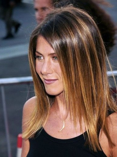 Sleek Medium Straight Hairstyles 2012 – Popular Haircuts For Current Straight, Sleek, And Layered Hairstyles For Medium Hair (View 14 of 25)