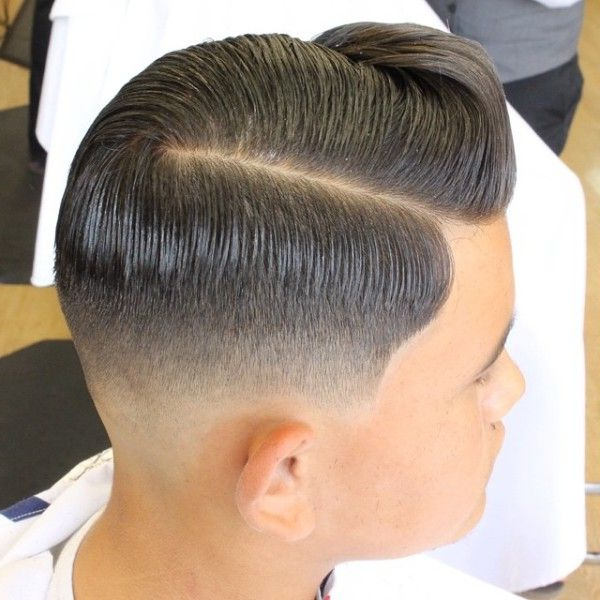 Slick With Front Ride Side Wave Comb Over | Hair Styles For Me For Ride The Wave Mohawk Hairstyles (View 7 of 25)