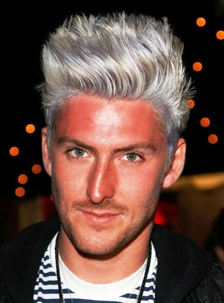 Steel Grey Hair Color For Men | Men Hair Styles Trend | I Can Rock With Steel Colored Mohawk Hairstyles (View 7 of 25)
